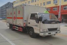 国五江铃易燃液体厢式运输车