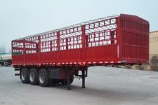 鸿盛业骏10米34吨3轴仓栅式运输半挂车(HSY9402CCY)