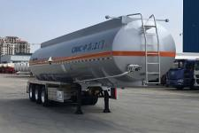 中集11.3米31.3吨3轴腐蚀性物品罐式运输半挂车(ZJV9401GFWJM)