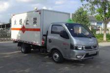 福田易燃液体厢式运输车