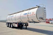 中集11.4米32.8吨3轴铝合金食用油运输半挂车(ZJV9401GSYJM)