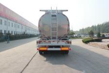 绿叶牌JYJ9400GRH型润滑油罐式运输半挂车图片