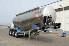 万事达10米34.1吨3轴下灰半挂车(SDW9400GXHA)