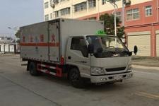 程力威牌CLW5040XDGJ5型毒性和感染性物品厢式运输车