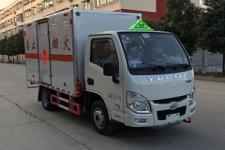 程力威牌CLW5032XRYSH5型易燃液體廂式運輸車