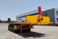鑫万荣7.5米32.6吨3轴平板自卸半挂车(CWR9403ZZXP)