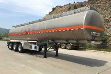 专致12.5米32.8吨3轴铝合金运油半挂车(YZZ9403GYYLE)