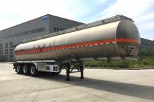专致12.4米33.1吨3轴铝合金运油半挂车(YZZ9402GYYLE)