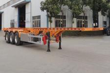 醒狮12.4米34.2吨3轴危险品罐箱骨架运输半挂车(SLS9403TWY)