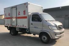 程力威牌CLW5030XZWCH5型杂项危险物品厢式运输车