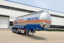 万事达11.3米32吨3轴易燃液体罐式运输半挂车(SDW9406GRYB)