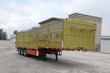 鸿盛业骏12米33.2吨3轴仓栅式运输半挂车(HSY9400CCYE)