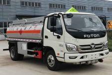 福田5吨加油车18727982299(楚胜牌5.8方)