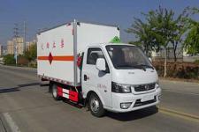東風途逸國六3米6易燃液體廂式運輸車