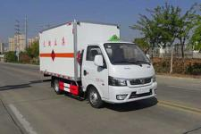 东风途逸国六3米6易燃气体厢式运输车