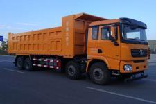 陕汽德龙前四后八大型工程自卸运输车