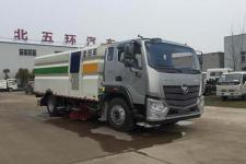 华通牌HCQ5186TXSB5型洗扫车