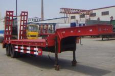 旭达12.4米17.9吨2轴低平板半挂车(CFJ9261TDP)