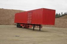 中集13米19.5吨2轴厢式运输半挂车(ZJV9272XXY)