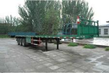 张拖13米31.5吨3轴平板半挂车(ZTC9391TP)