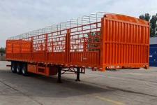 劲越10.5米32吨3轴仓栅式运输半挂车(LYD9402CLXY)