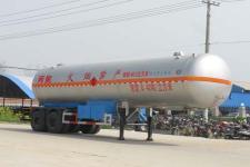 程力威11.3米17吨2轴液化气体运输半挂车(CLW9310GYQ)