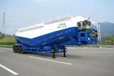 中集13米26.1吨3轴粉粒物料运输半挂车(ZJV9400GFLSZ)