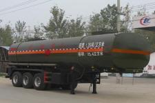程力威9.5米30.5吨3轴易燃液体罐式运输半挂车(CLW9407GRY)