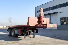 粱锋7.7米29吨2轴平板自卸半挂车(LYL9350ZZXP)