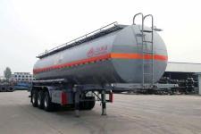 万事达10.6米31.5吨3轴腐蚀性物品罐式运输半挂车(SDW9402GFW)