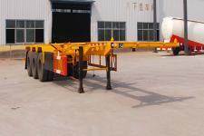 粱锋8.5米35吨3轴集装箱运输半挂车(LYL9403TJZ)