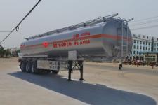 程力威12.1米33吨3轴铝合金运油半挂车(CLW9405GYY)