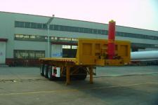 通华9米31.5吨3轴平板自卸半挂车(THT9403ZZXP)