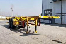 粱锋12.4米30.5吨2轴集装箱运输半挂车(LYL9353TJZ)