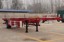 瑞傲12.4米11.8吨1轴空载集装箱运输半挂车(LHR9150TJZ)