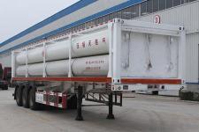 景阳岗12.3米3.9吨3轴液压子站高压气体长管半挂车(SFL9401GGY)
