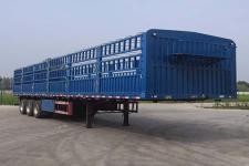 雨辰12.5米30.4吨3轴仓栅式运输半挂车(SCD9371CCY)