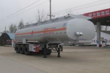 程力威10.5米30.5吨3轴易燃液体罐式运输半挂车(CLW9406GRYA)