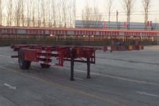 郓翔12.5米11.9吨1轴空载集装箱运输半挂车(YDX9150TJZ)