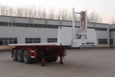 粱锋11米32.2吨3轴平板自卸半挂车(LYL9403ZZXP)