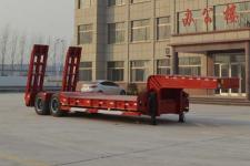 坤博11米26.2吨2轴低平板半挂车(LKB9350TDP)