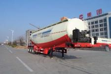 杨嘉11.4米30.1吨3轴下灰半挂车(LHL9408GXHA)