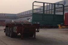 粱鋒10.5米32噸3軸平板自卸半掛車(LYL9405ZZXP)