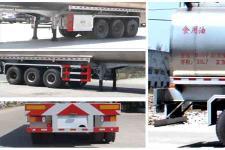 程力威牌CLW9402GSY型食用油运输半挂车图片