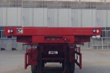 粱锋牌LYL9404ZZXP型平板自卸半挂车图片