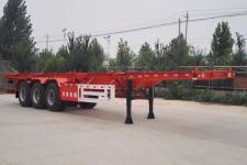 豫前通12.4米31吨3轴集装箱运输半挂车(HQJ9370TJZ)
