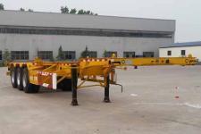 沃顺达12.5米33.5吨3轴集装箱运输半挂车(DR9401TJZE)