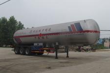 程力威13米25吨3轴液化气体运输半挂车(CLW9401GYQB)