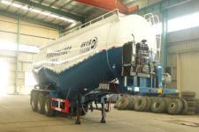东润10.1米30.8吨3轴中密度粉粒物料运输半挂车(WSH9402GFL)