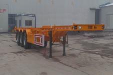 郓宇12.5米33.6吨3轴危险品罐箱骨架运输半挂车(YJY9400TWYE)